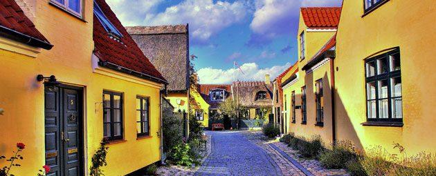 Vinduepudser i Dragør - De hyggeligste gader i Danmark